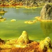 Dallol suplhur springs ethiopia