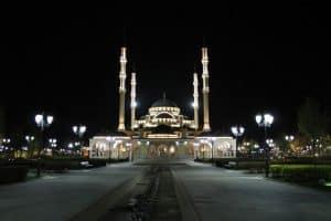 Grozny Mosque Russian Caucasus