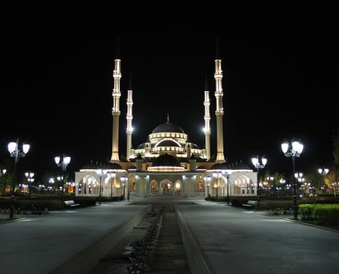 Grozny Mosque - Chechnya, Dagestan and Russia's Deep South trip