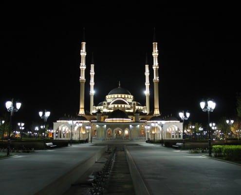 60 Grozny Mosque