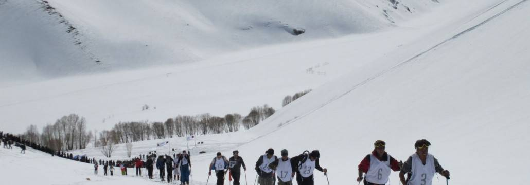 First Afghan winter olympians