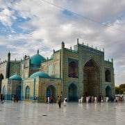 Blue Mosque Mazar i Sharif - Seb MacKinnon