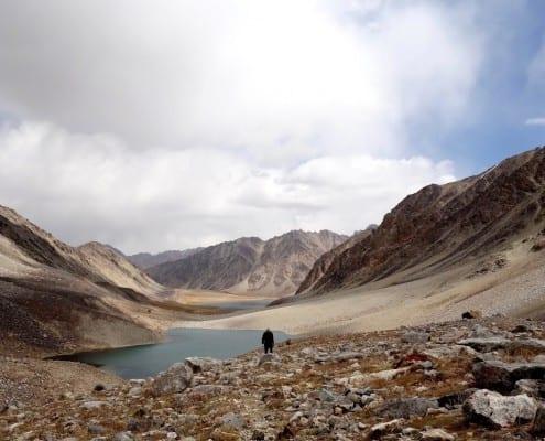 Pamir Mountain Lakes