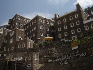 Traditional architecture in Abha - Saudi Arabia