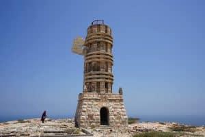 Lighthouse Francesco Crispi - Puntland