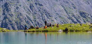 Lake Teleskoye Altai Republic