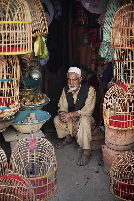 Street vendor - Kabul