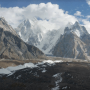 K2 Concordia helicopter trip