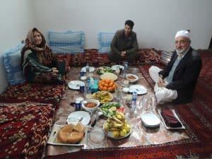 Untamed Borders guest in Afghanistan