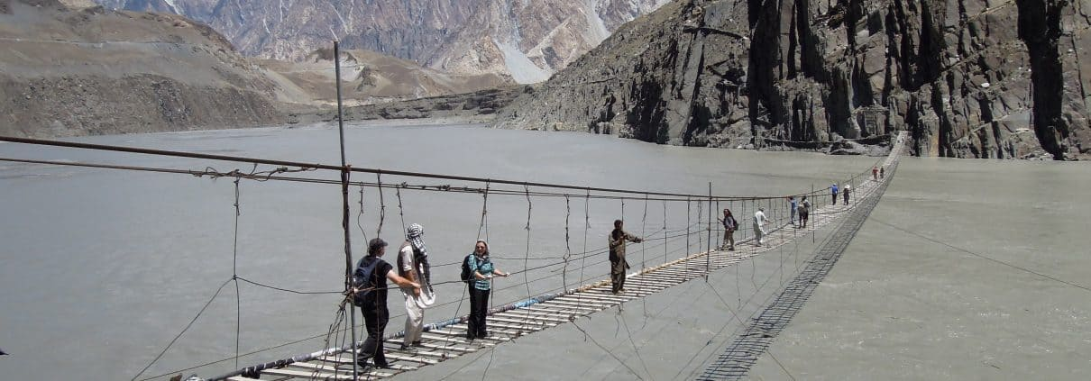 Husseini rope bridge