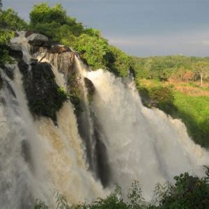 Boali Falls Central African Republic