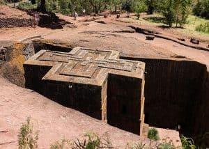 Lalibela church Ethiopia by D Mz